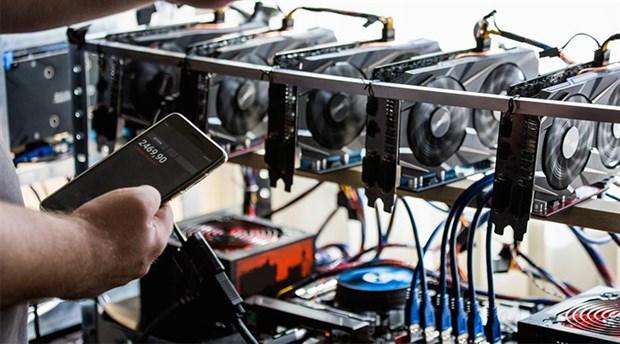 milyon dolarlik bitcoin ve etheri kacak elektrikle uretti
